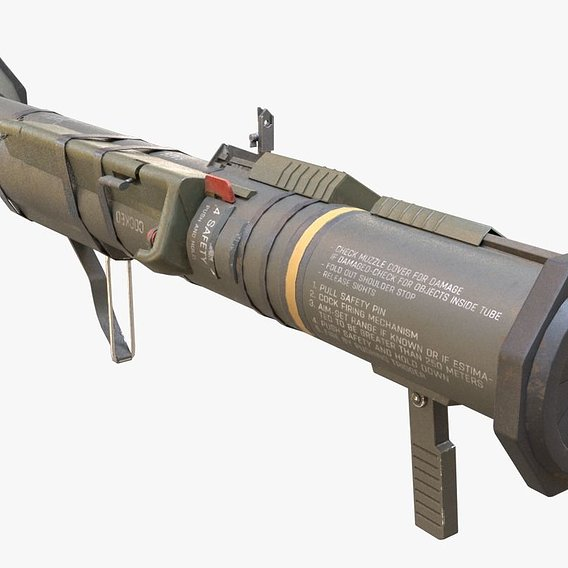 AT4 Rocket Launcher