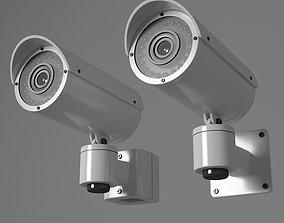 CCTV Camera lens 3D model