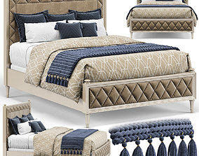 Caracole Classic King Bed 3D