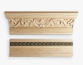 cornice baseboard 3D model