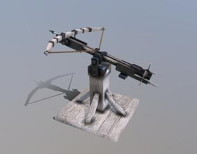 Medieval Siege Ballista 3D model