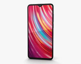 3D model Xiaomi Redmi Note 8 Pro Black