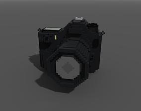 3D model Voxel Digital Camera DSLR