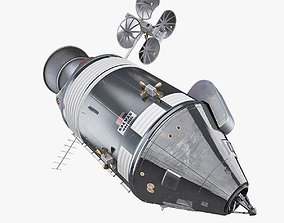 Apollo Spacecraft 3D