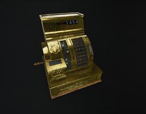 3D Victorian Cash Register