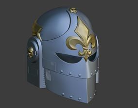 3D print model Custom Helmet like as Sisters of Battle 1