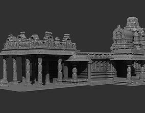 Hazara Rama Temple replica 3D print model