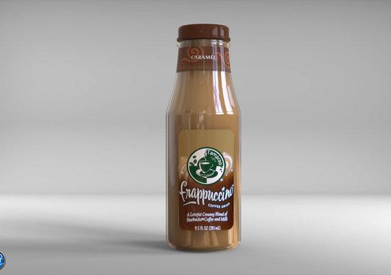 Caramel Coffee Bottle