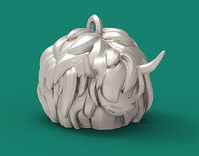3D print model Bull ornament for Christmas tree