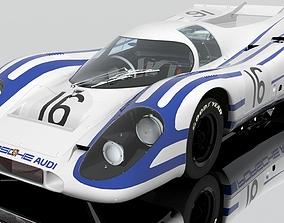 3D Porsche 917 K racing 16