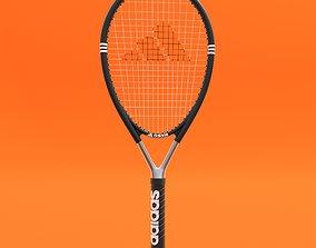 Adidas Tennis Racket 3D model