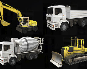 Construction Equipment 3D model