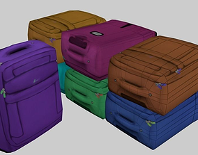 luggage 3D model realtime