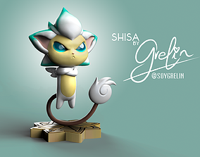 3D print model Shisa from League of Legends - Star 1