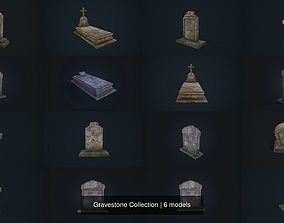 Gravestone Collection 3D