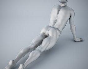 3D print model Man yoga 006