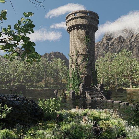 Tower Scene