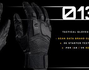 Tactical Gloves 013 3D model