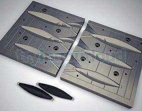 40-60-80 Gr Famous Model Metal Jig Mold