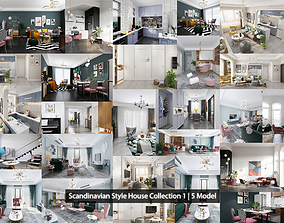 Scandinavian Style Collection 3D model
