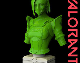 Viper from Valorant Bust 3D Print Ready