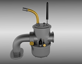 3D Moped carburetor