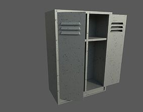 Locker 3D asset