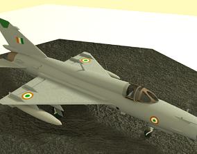 MiG-21 Bison 3D model