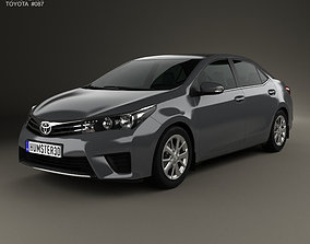 3D Toyota Corolla sedan 2014