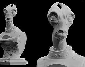 Mass Effect Andromeda Salarian 3D print model