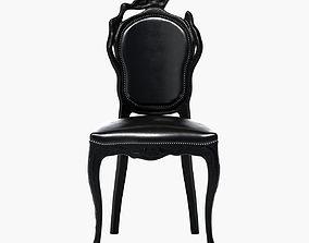 3D model Moooi Smoke dining chair