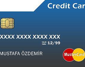 Credit Card 3D asset