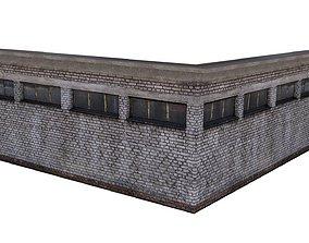 Factory Building 04 03 3D asset