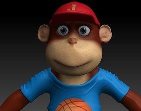 3D asset Monkey junior