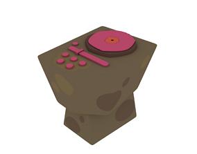Djs table 3D model