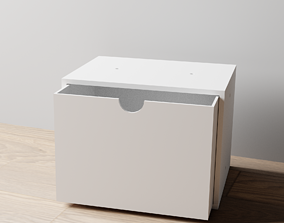 3D print model 015L LA Unit Large Single Drawer