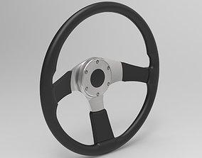 radial Momo Tuner - Steering Wheel 3D Model