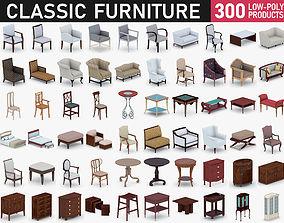 3D asset Classic Furniture Collection