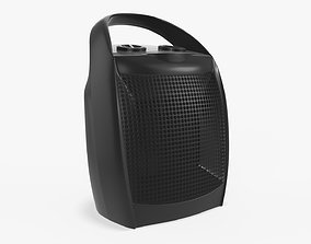 3D Portable electric heater