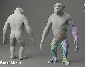 Chimp Base Mesh 3D model