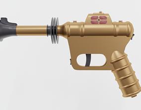 3D model scifi guns