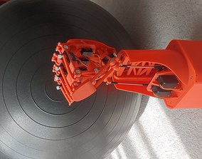 MECH-A2 ROBOTIC - BIONIC HAND AND LOWER ARM 3D print model