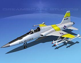 Northrop F-5E Tiger V04a USAF 3D model
