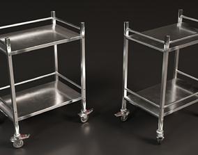Medical Trolley 3D asset