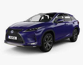 Lexus RX hybrid Executive 2020 3D model