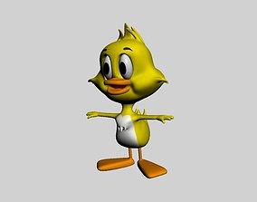duckling 3D model realtime