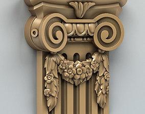 3D Column Capital 004