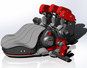 Azeron Cyborg keypad replica 3D print model
