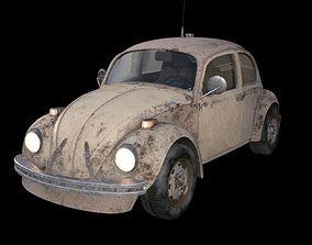 3D model old classic car
