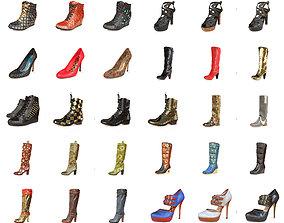 3D model 30 Shoe Women collection